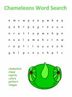 Chameleon word search.