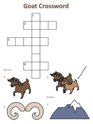 Goat Crosswords