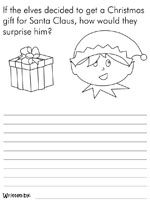 Christmas Writing Prompts.Christmas Creative Writing Prompts