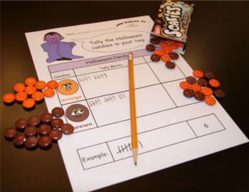 Halloween on Fun Math Color By Number Worksheets