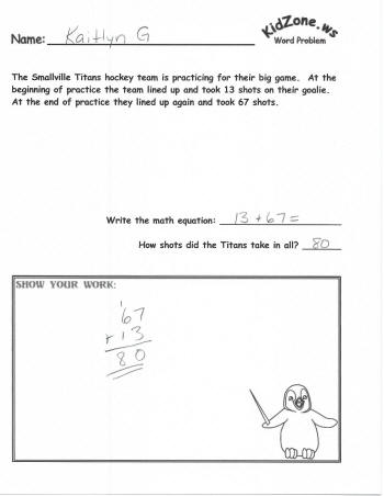 Common Worksheets » Word Problems Division With Remainders ...