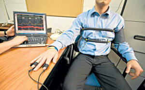 Image result for polygraph machine